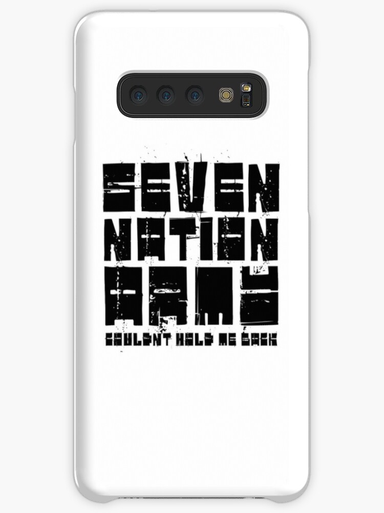 'Seven Nation Army The White Stripes Lyrics' Case/Skin for Samsung Galaxy  by Sid3walkArt