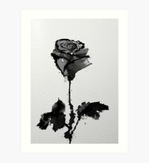 Carly's Rose Art Print