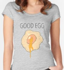 Good Egg Women's Fitted Scoop T-Shirt
