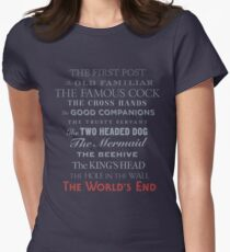The World's End Women's Fitted T-Shirt
