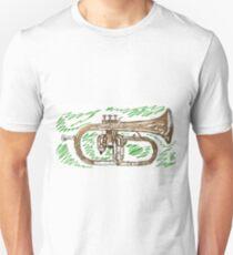 Flugelhorn in grass T-Shirt