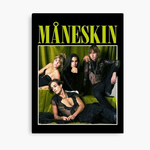MANESKIN Måneskin merchandising Canvas Print