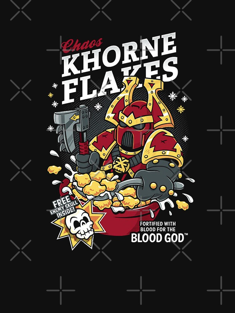 Chaos Khorne Flakes by Connores