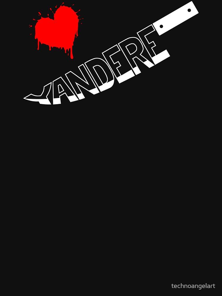 Yandere Knife by technoangelart