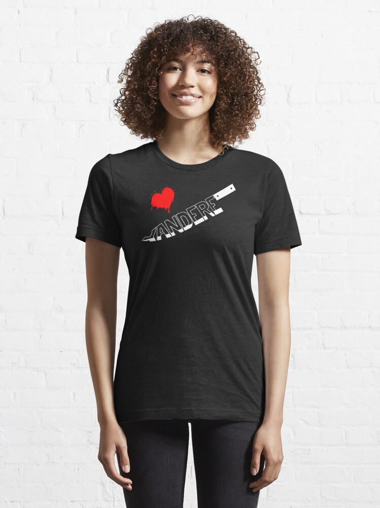 Alternate view of Yandere Knife Essential T-Shirt