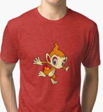 Chimchar Tri-blend T-Shirt