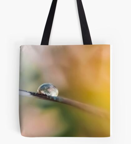 Teardrop on Feather Tote Bag