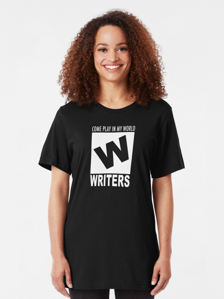 Alternate view of Writers Rating Slim Fit T-Shirt