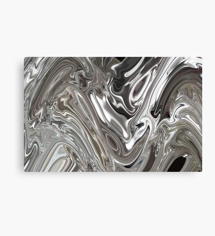 PLATINUM MELT Canvas Print