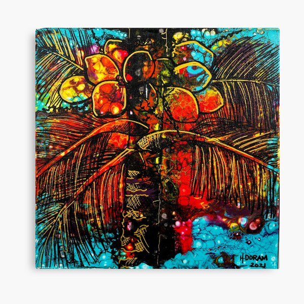 My Caribbean Aesthetic Series - Going Coconuts Canvas Print