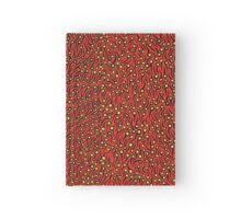 Untitled by Yayoi Kusama.  Acrylic on canvas, 45.5 x 38.0 cm. Signed and dated 1993 Hardcover Journal
