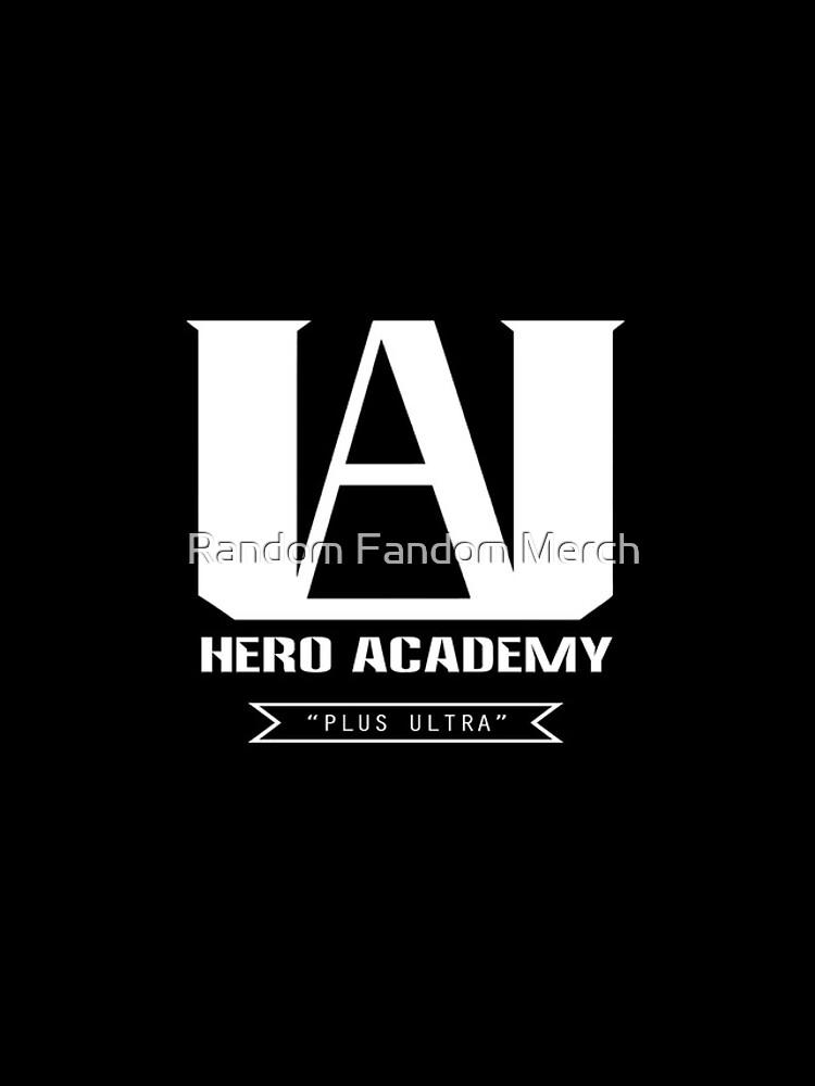 UA High Plus Ultra-Logo - (Mein Held Academia, Boku no Hero Academia, BNHA) von RanFanMerch