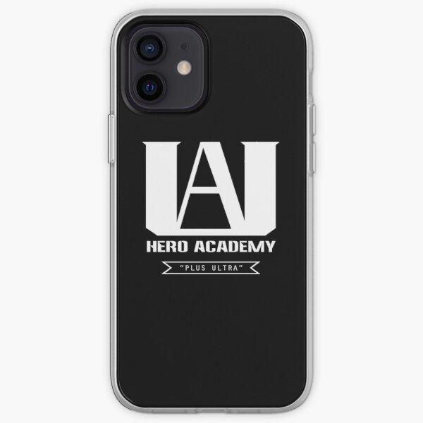 U.A. Logotipo de High Plus Ultra - (My Hero Academia Funda blanda para iPhone