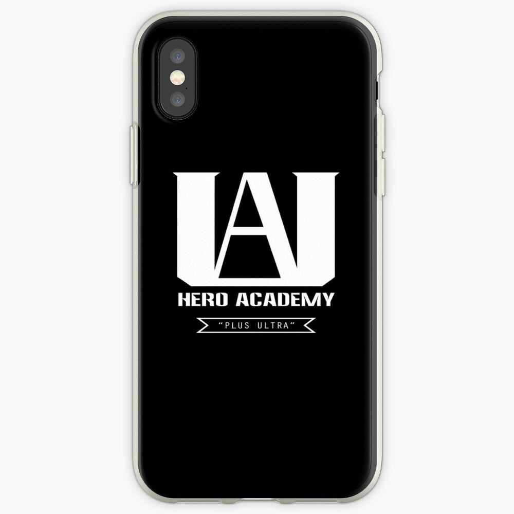 UA High Plus Ultra-Logo - (Mein Held Academia, Boku no Hero Academia, BNHA) iPhone-Hüllen & Cover