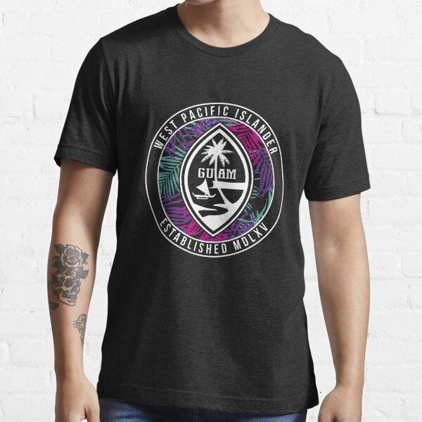 Vintage Seal Guam Long Sleeve T Shirt Essential T-Shirt
