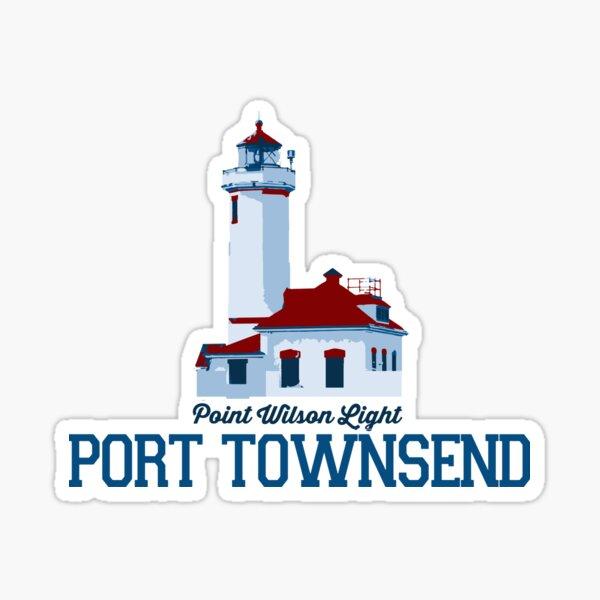 Port Townsend - Washington State.  Sticker