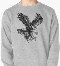 Bald Eagle (Black) Pullover