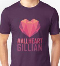 #AllHeartGillian - Pink  Unisex T-Shirt
