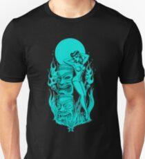 Tiki blue moon T-Shirt