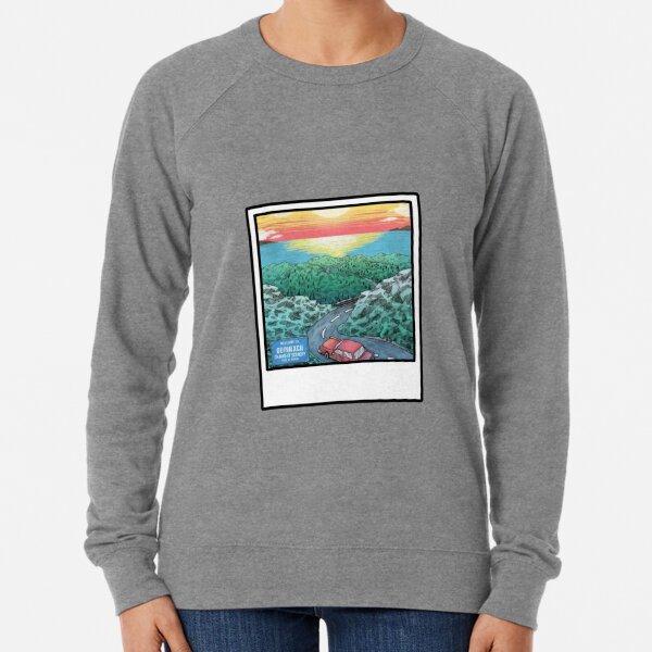 "quinn xcii's ""change of scenery"" polaroid album Lightweight Sweatshirt"