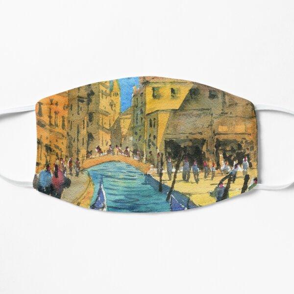 Venice - Campo San Barnaba Painting Flat Mask