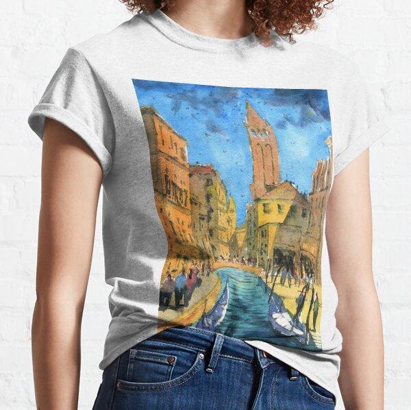 Venice - Campo San Barnaba Painting Classic T-Shirt