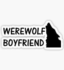 Werewolf Boyfriend Sticker