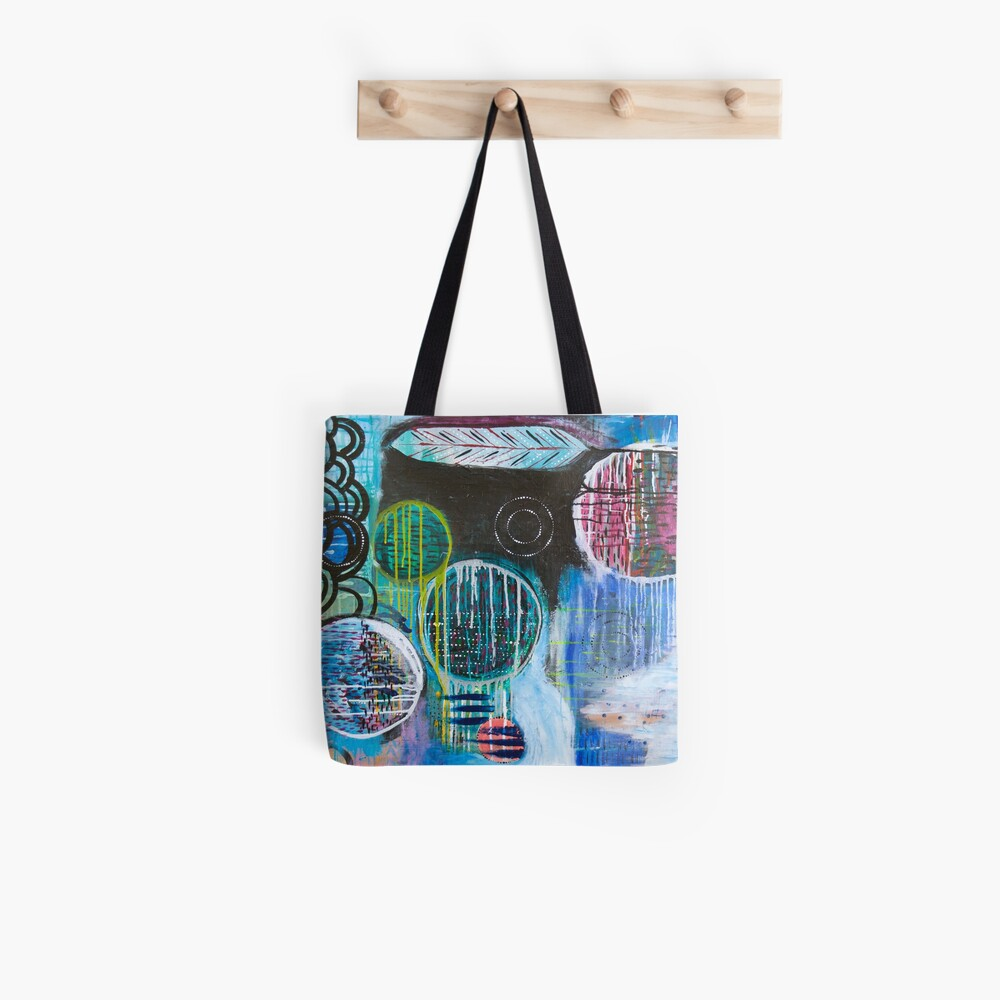 Dialogues with the Inner Artist Tote Bag