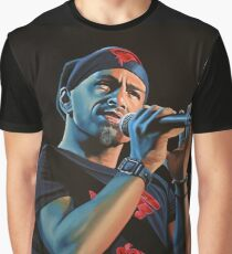 Eros Ramazzotti Painting Graphic T-Shirt