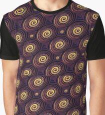 Circles Colorful Pattern Graphic T-Shirt