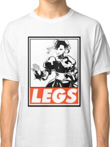 Chun-Li Legs Obey Design Classic T-Shirt