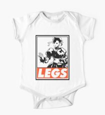 Chun-Li Legs Obey Design One Piece - Short Sleeve
