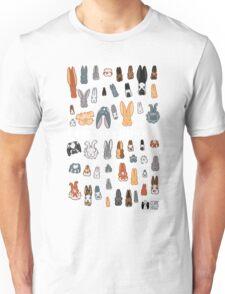 Who's Your Bunny | Show Rabbit Breeds Textile Angora Holland Lop Belgian Hare Rex Rhinelander Dutch Jersey Wooly American Rabbit Breeders Unisex T-Shirt
