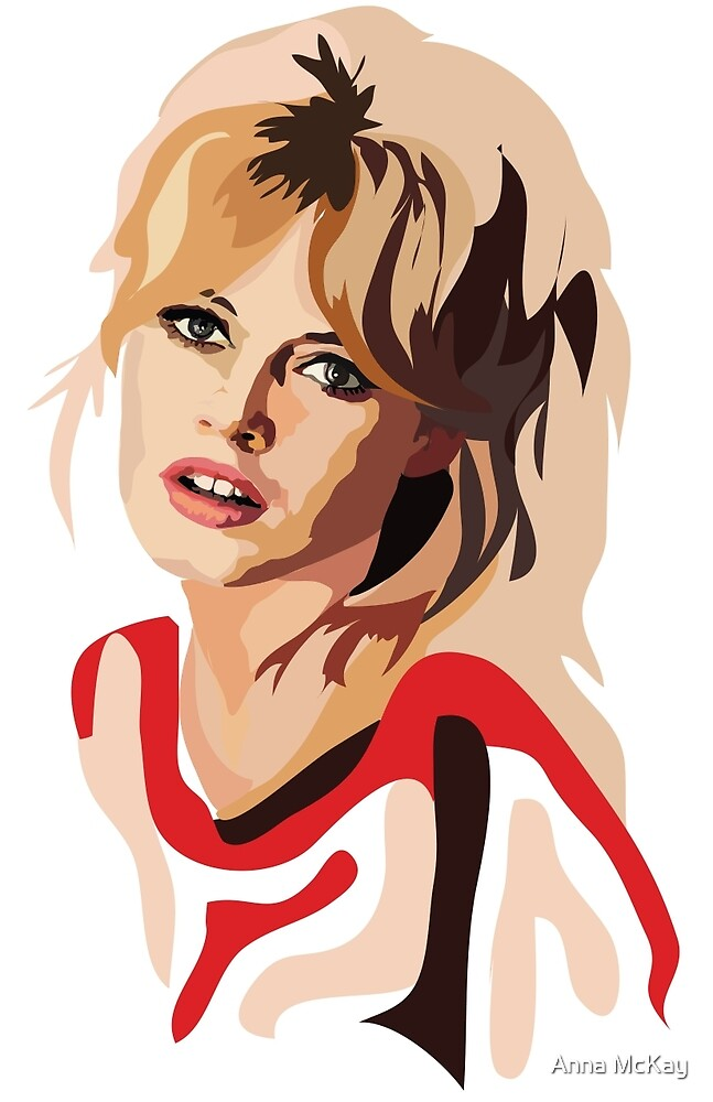 Brigitte Bardot by Anna McKay