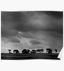 Norfolk skies Poster
