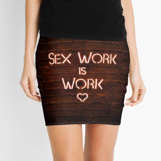 Sex Work is Work Mini Skirt