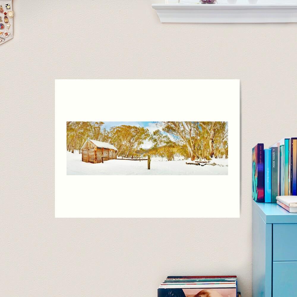 Cascade Hut, Kosciuszko National Park, New South Wales, Australia Art Print