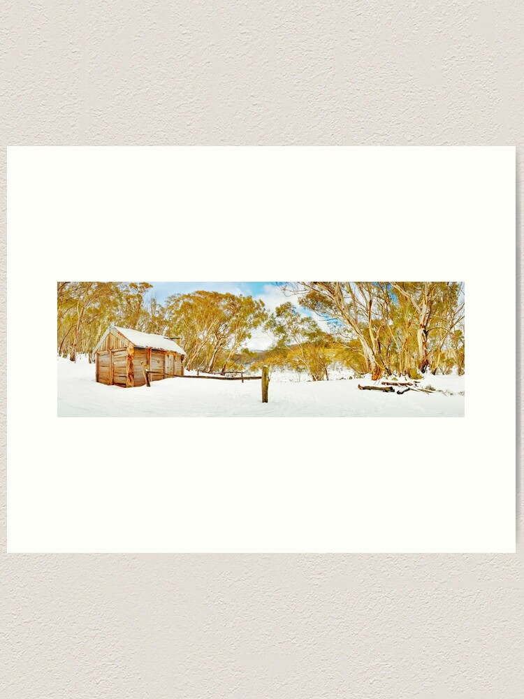 Alternate view of Cascade Hut, Kosciuszko National Park, New South Wales, Australia Art Print