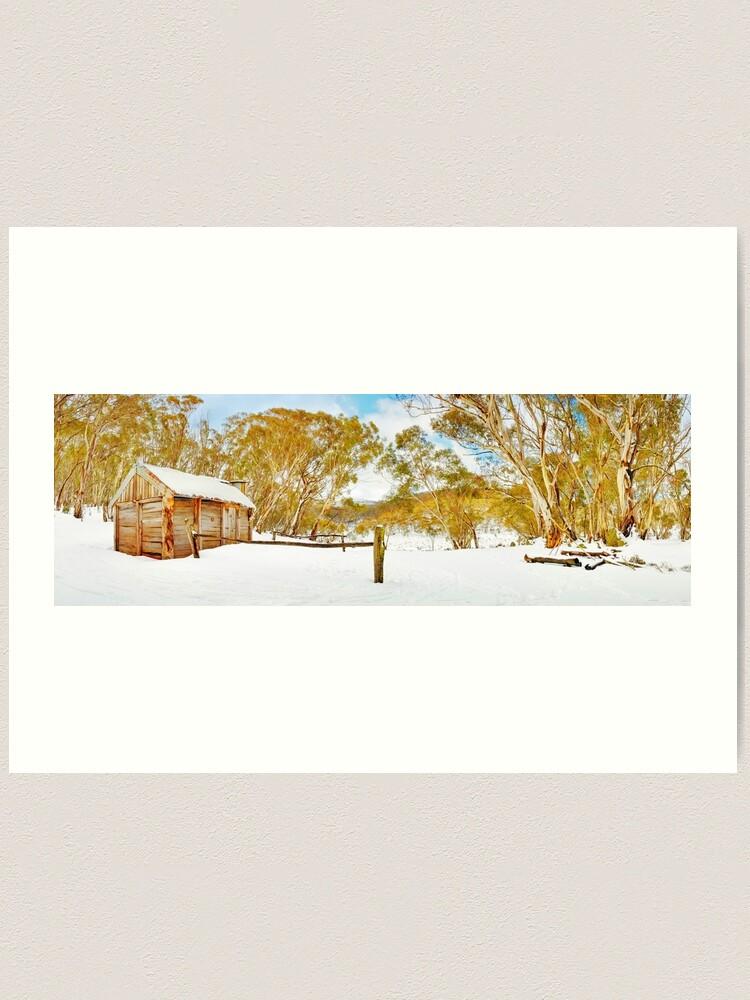 Alternate view of Cascade Hut, Kosciuszko National Park, New South Wales, Australia Art Print