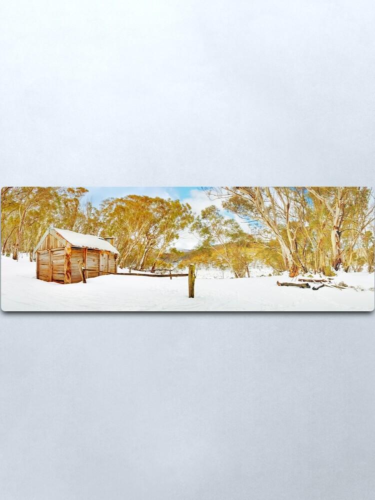 Alternate view of Cascade Hut, Kosciuszko National Park, New South Wales, Australia Metal Print