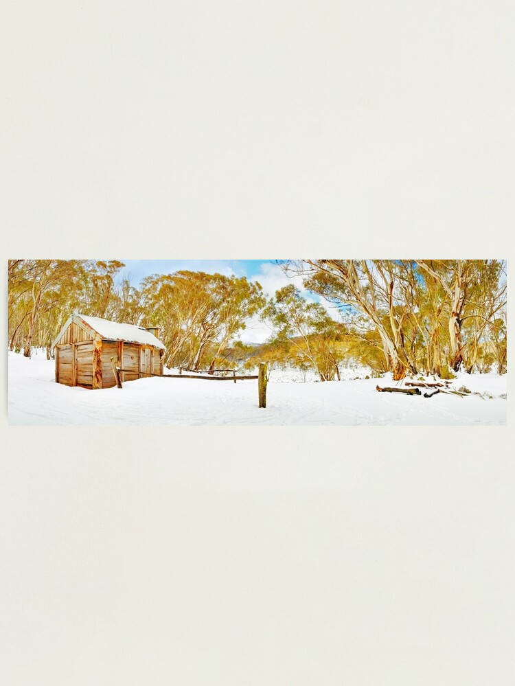 Alternate view of Cascade Hut, Kosciuszko National Park, New South Wales, Australia Photographic Print