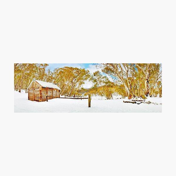 Cascade Hut, Kosciuszko National Park, New South Wales, Australia Photographic Print