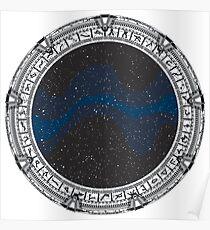Stargate (black) Poster