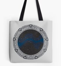 Stargate (black) Tote Bag
