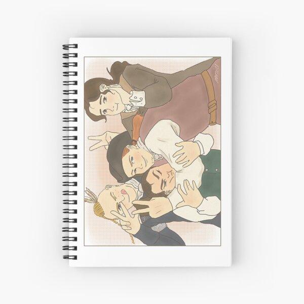 The BackCountry Boys (Version 2 - Landscape) Spiral Notebook