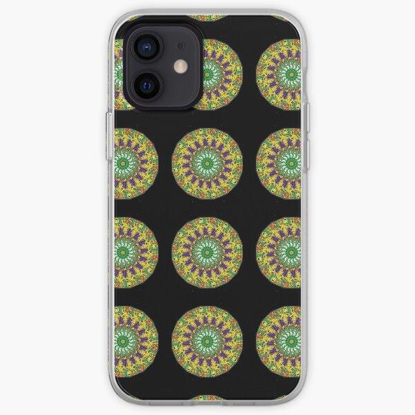PERCENTUM MANDALA iPhone Soft Case