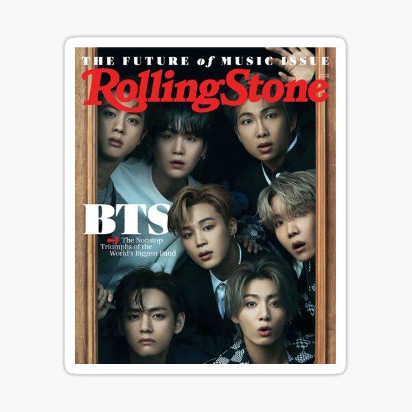 BTS Rolling Stone  Sticker