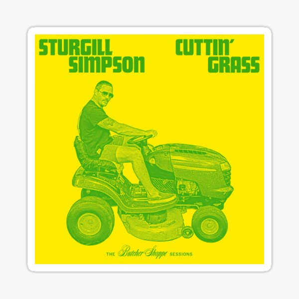 Sturgill Simpson  Sticker