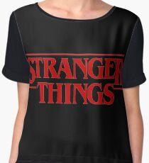 stranger things Chiffon Top