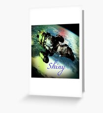 Shiny Firefly Greeting Card